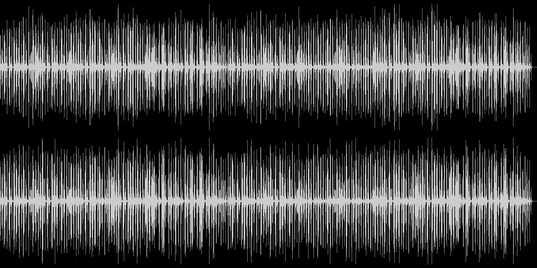 ほのぼのとしたコミカルアコースティックの未再生の波形