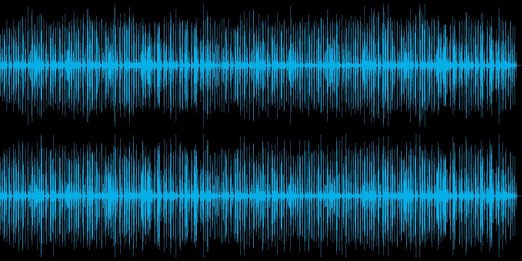 ほのぼのとしたコミカルアコースティックの再生済みの波形