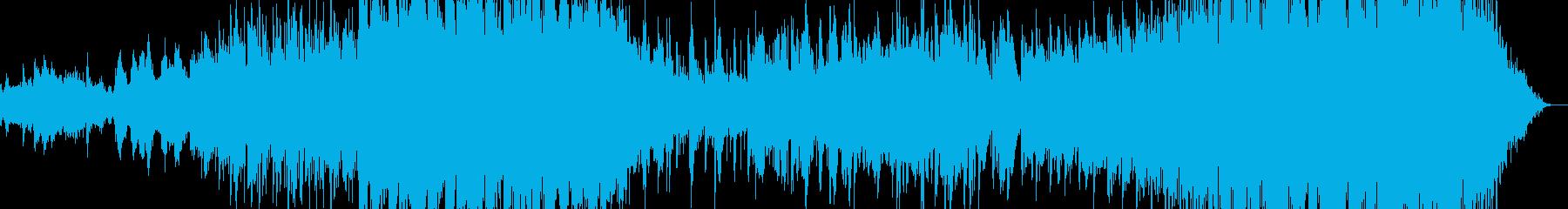 紅葉をイメージした曲の再生済みの波形
