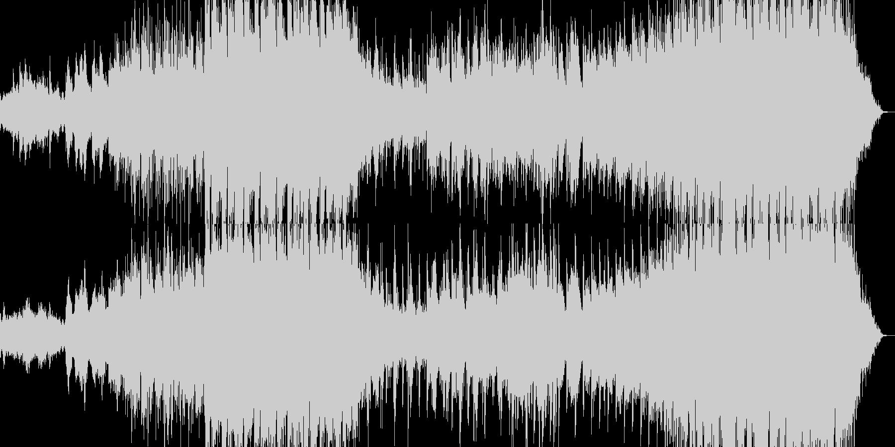 紅葉をイメージした曲の未再生の波形