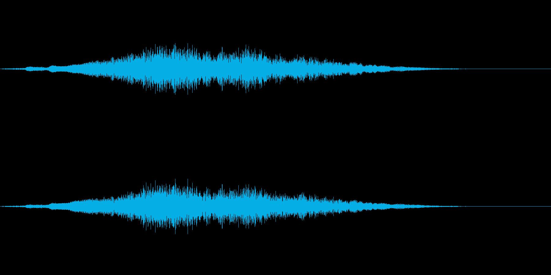へあ〜〜〜〜の再生済みの波形