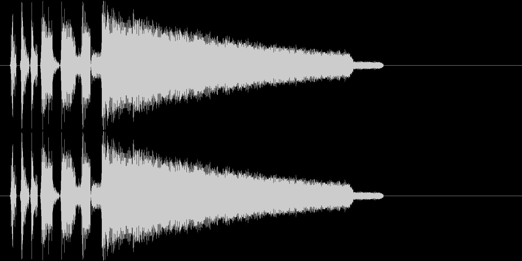 チップチューンのファンファーレジングルの未再生の波形