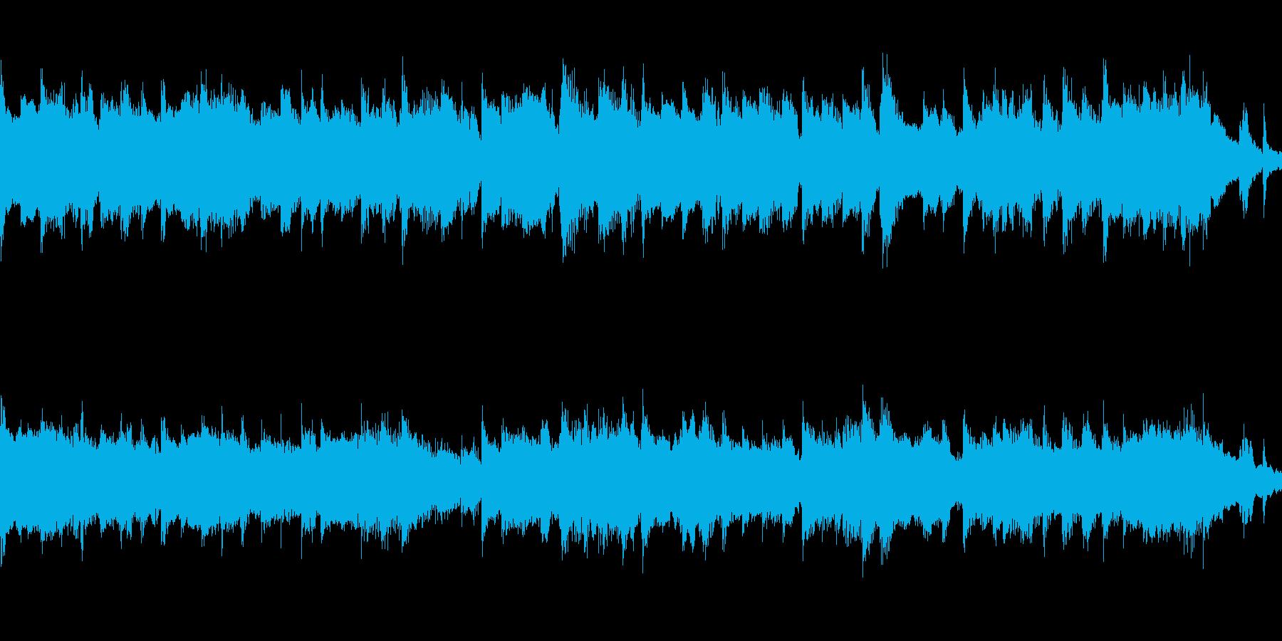 故郷の情景・ループ再生用ショート版の再生済みの波形