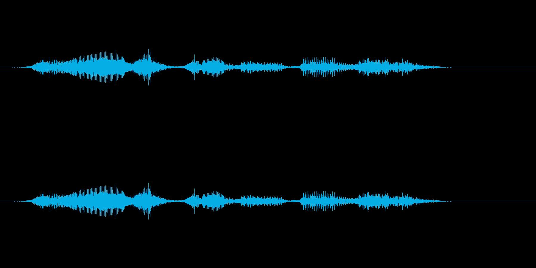 【時報・時間】17時です (しち)の再生済みの波形
