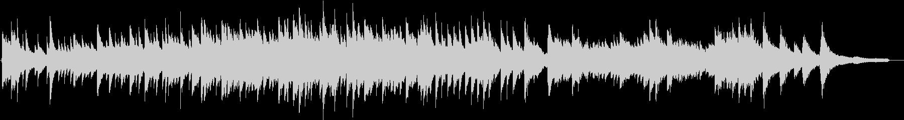 ヒーリング系のピアノソロ(スタインウェイの未再生の波形
