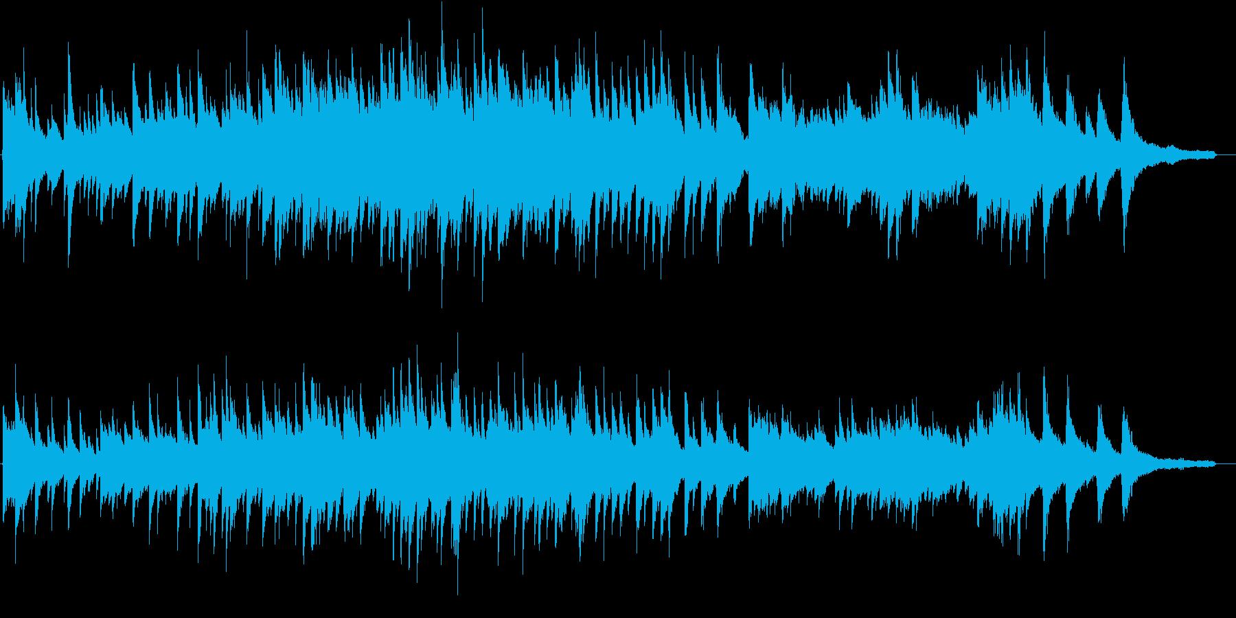 ヒーリング系のピアノソロ(スタインウェイの再生済みの波形