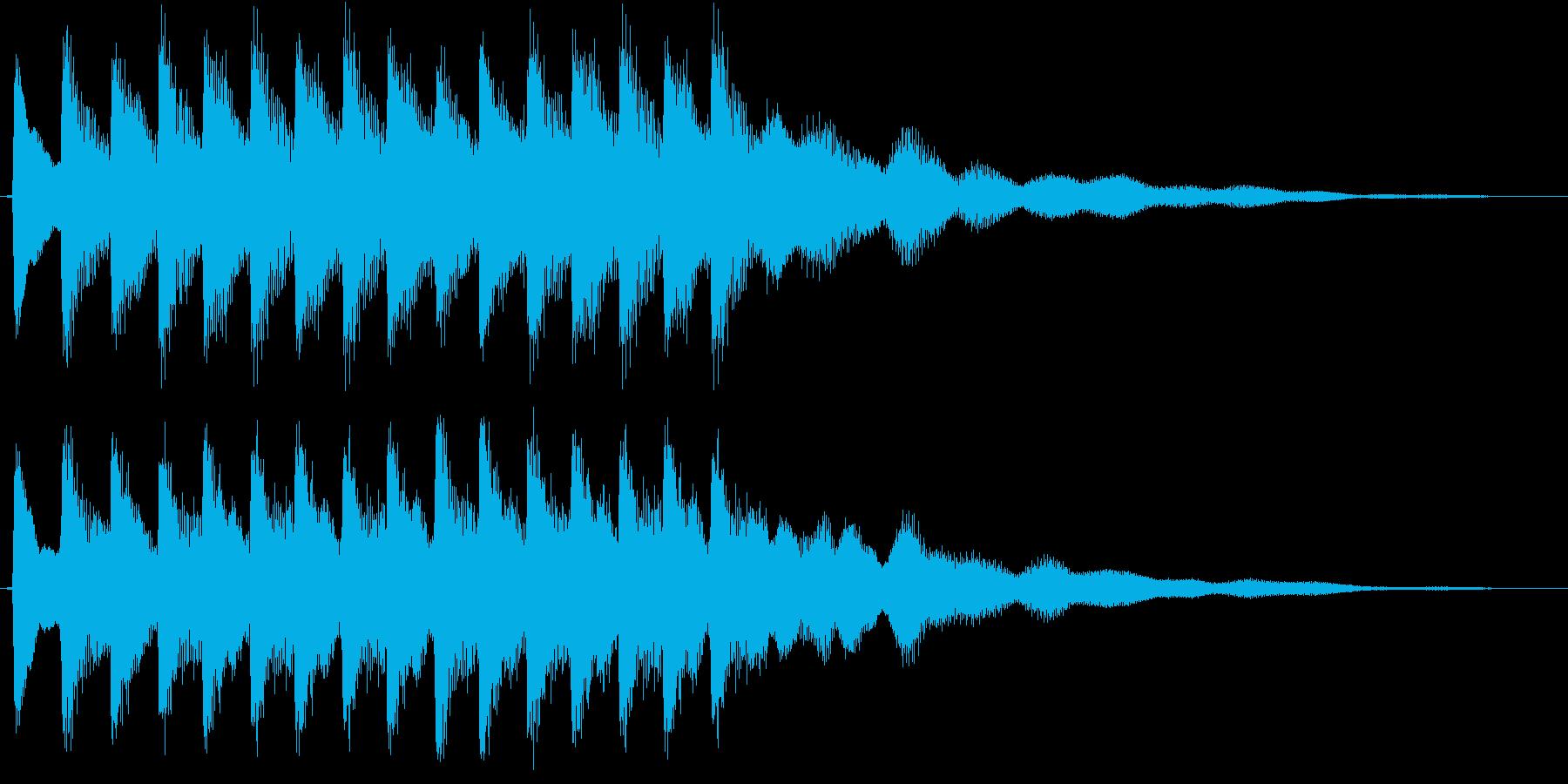 ティロリロリロリロ・・・(ベル)の再生済みの波形
