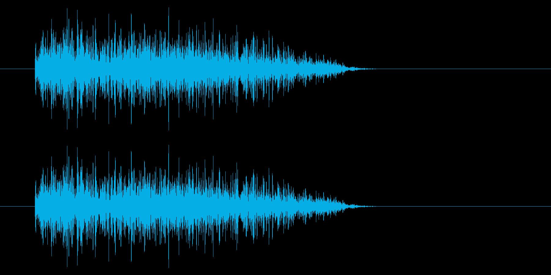 SNES-RPG04-02(魔法 炎1)の再生済みの波形