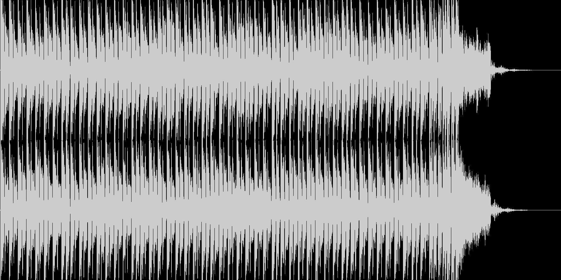 正月定番「さくらさくら」テクノカバーの未再生の波形