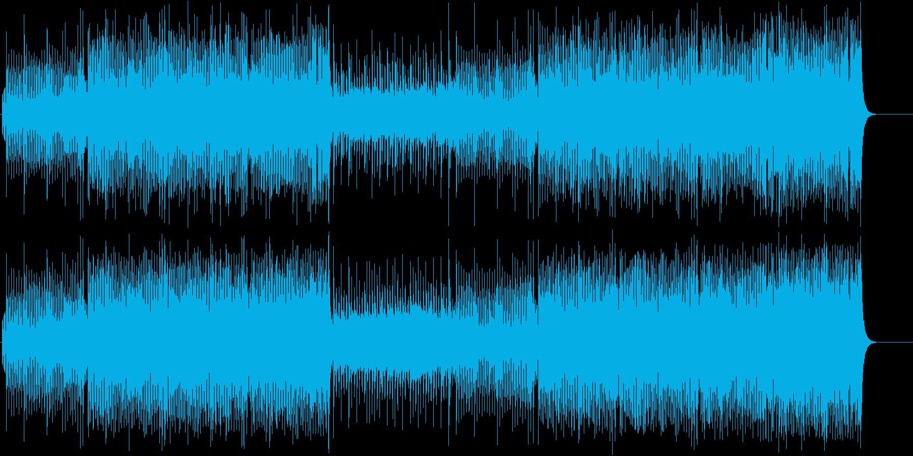 楽しいずっこけパントマイムの再生済みの波形