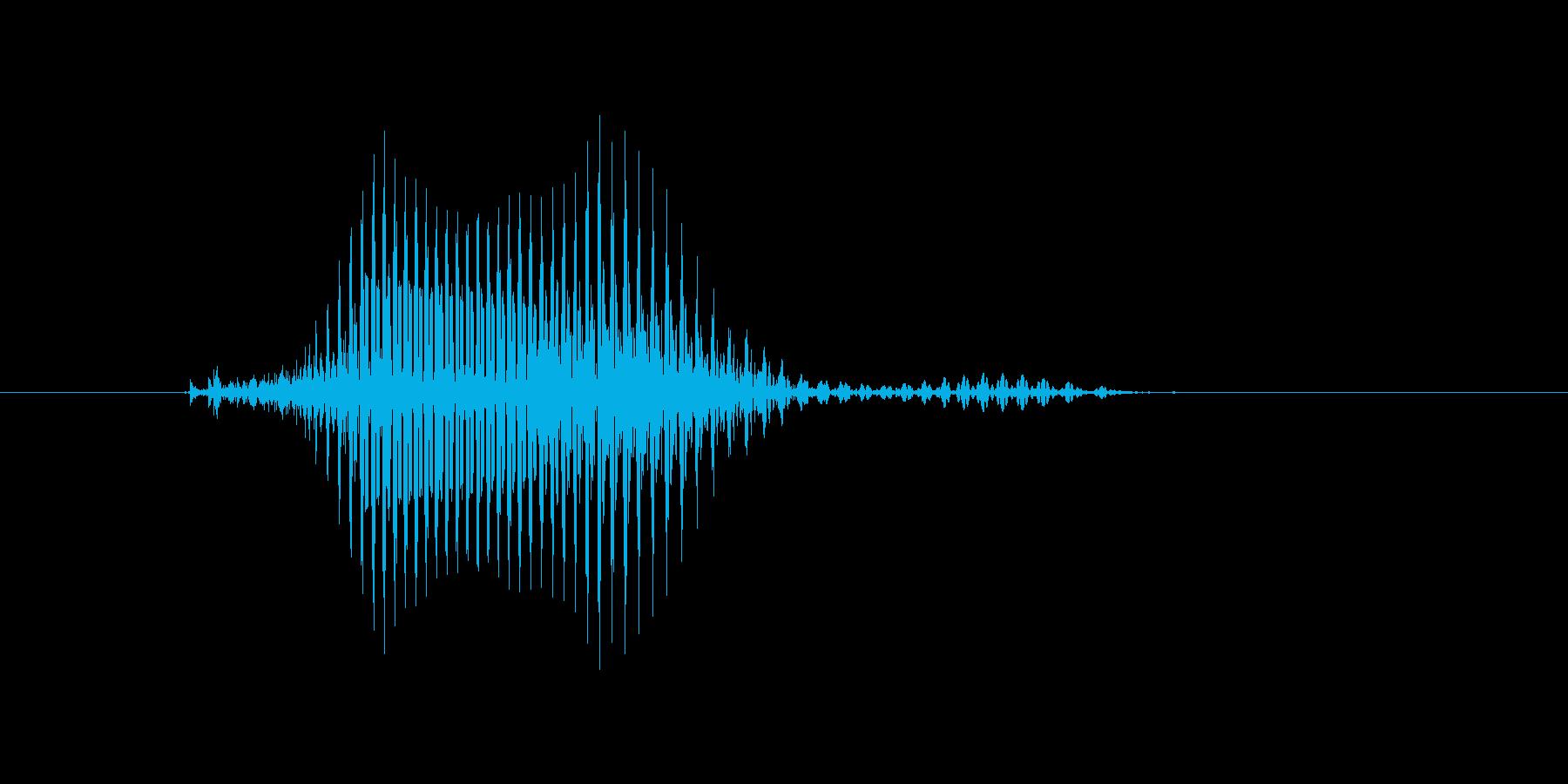 カーブの再生済みの波形