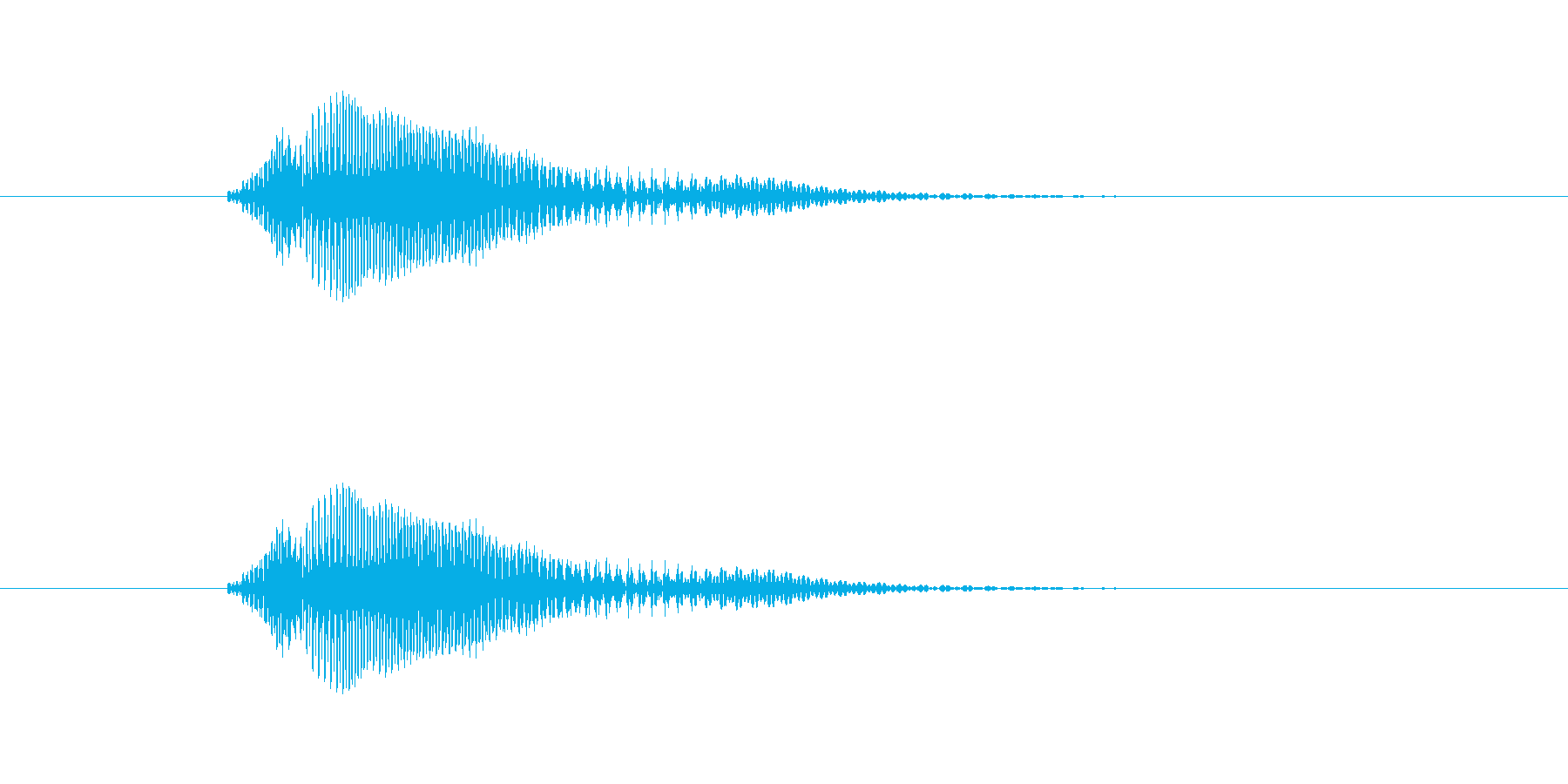 和風掛け声 - 男性   おぃ!の再生済みの波形