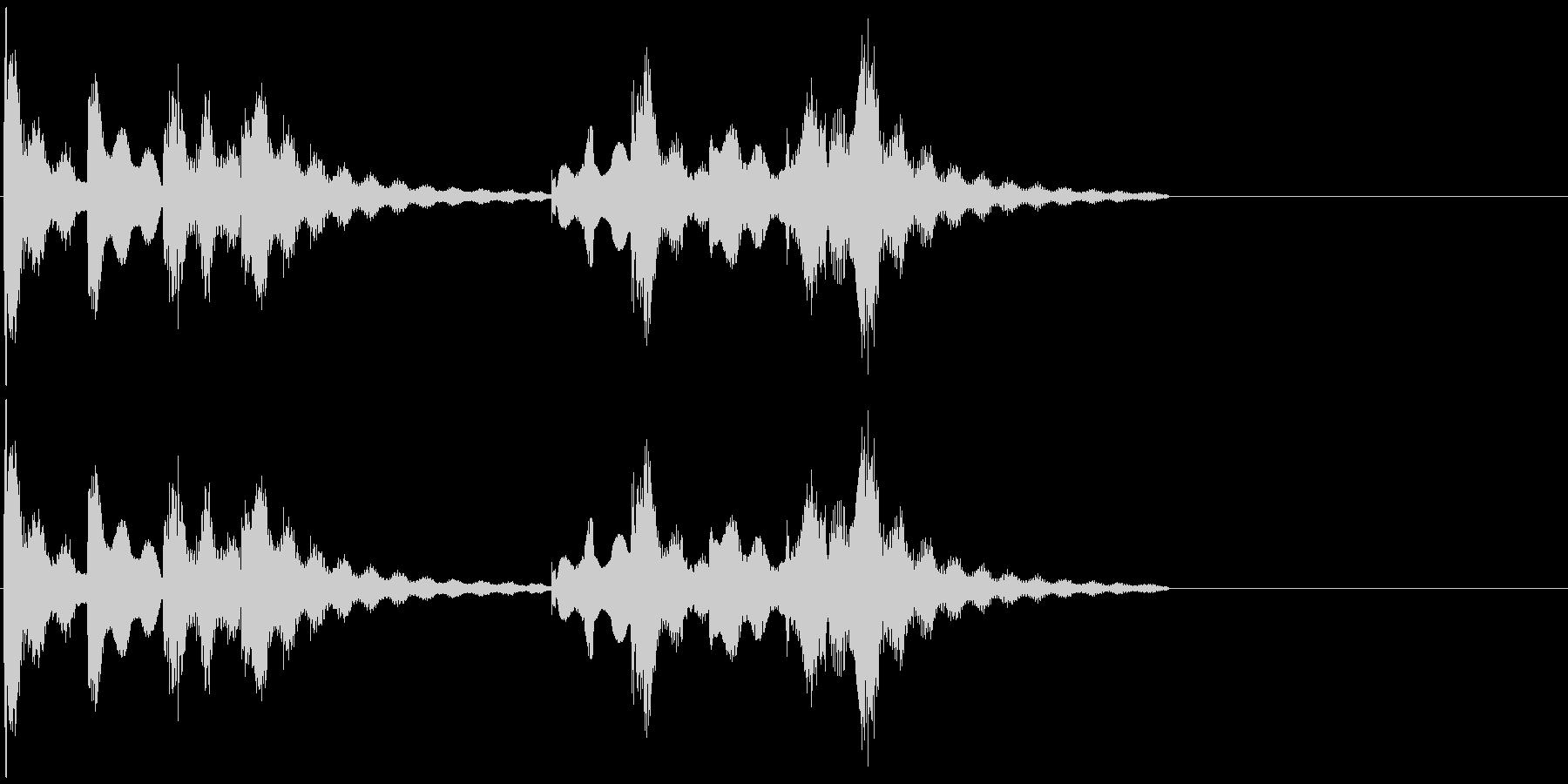 大人な雰囲気のジングル向けBGMの未再生の波形