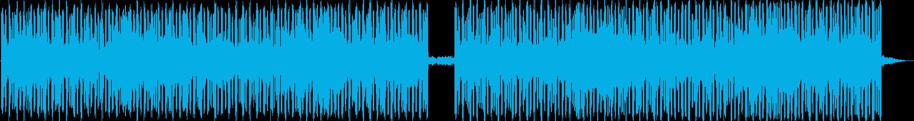ニュース、ラジオ等の挿入BGMをイメー…の再生済みの波形