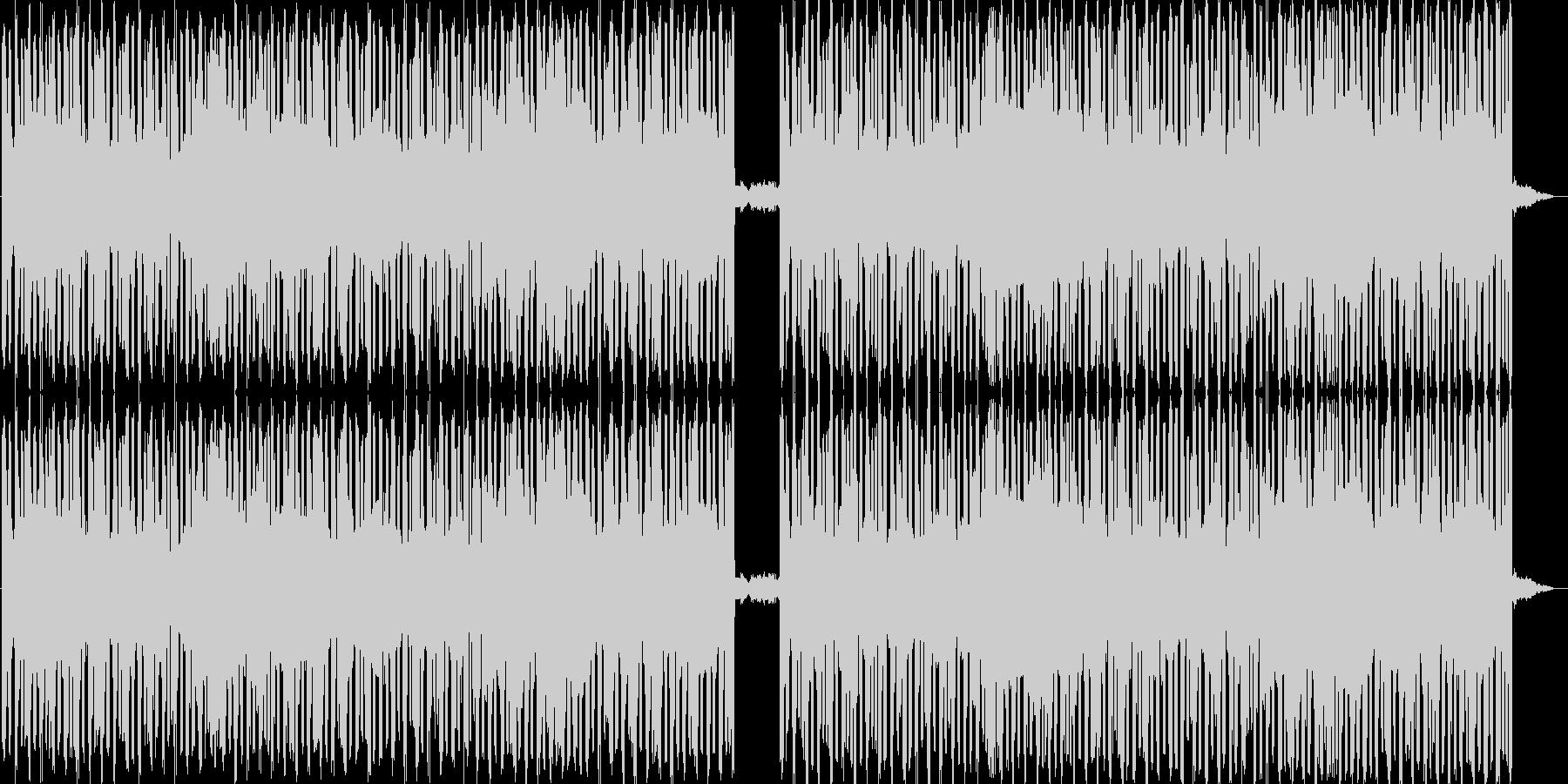ニュース、ラジオ等の挿入BGMをイメー…の未再生の波形
