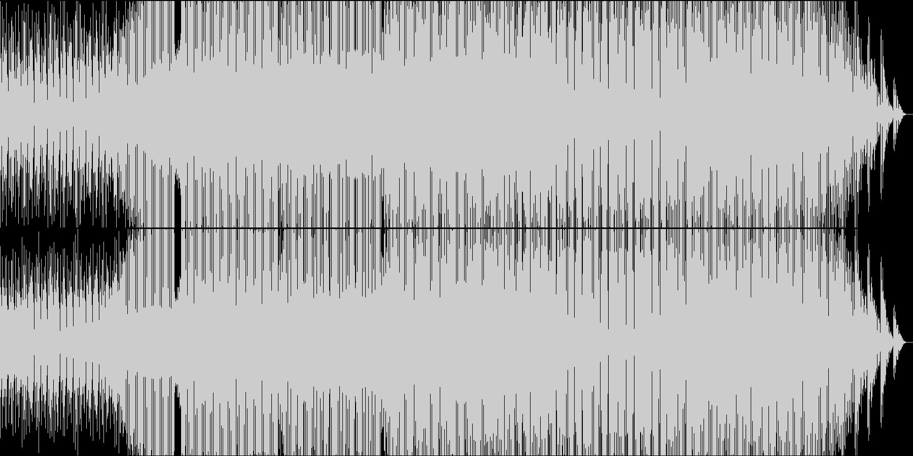 熱い時代を駆け抜けるバキバキビートの未再生の波形