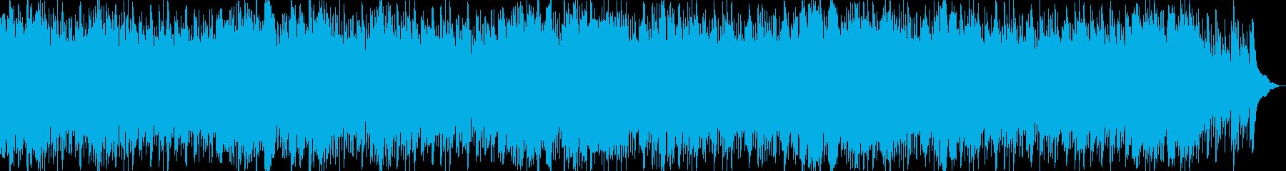 優しい笛の音が奏でるリラクゼーションの再生済みの波形