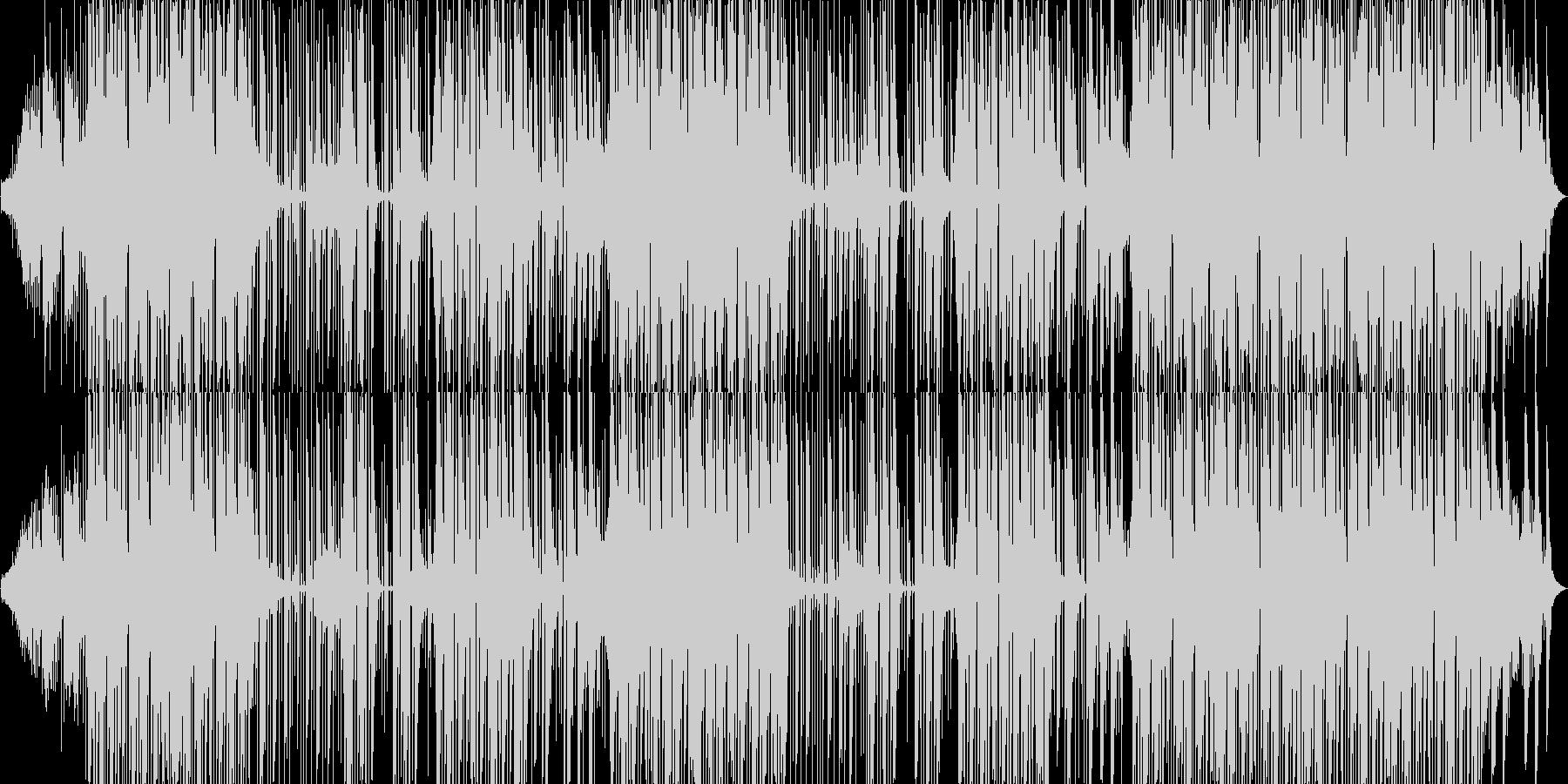 壮大系Hiphopビートの未再生の波形
