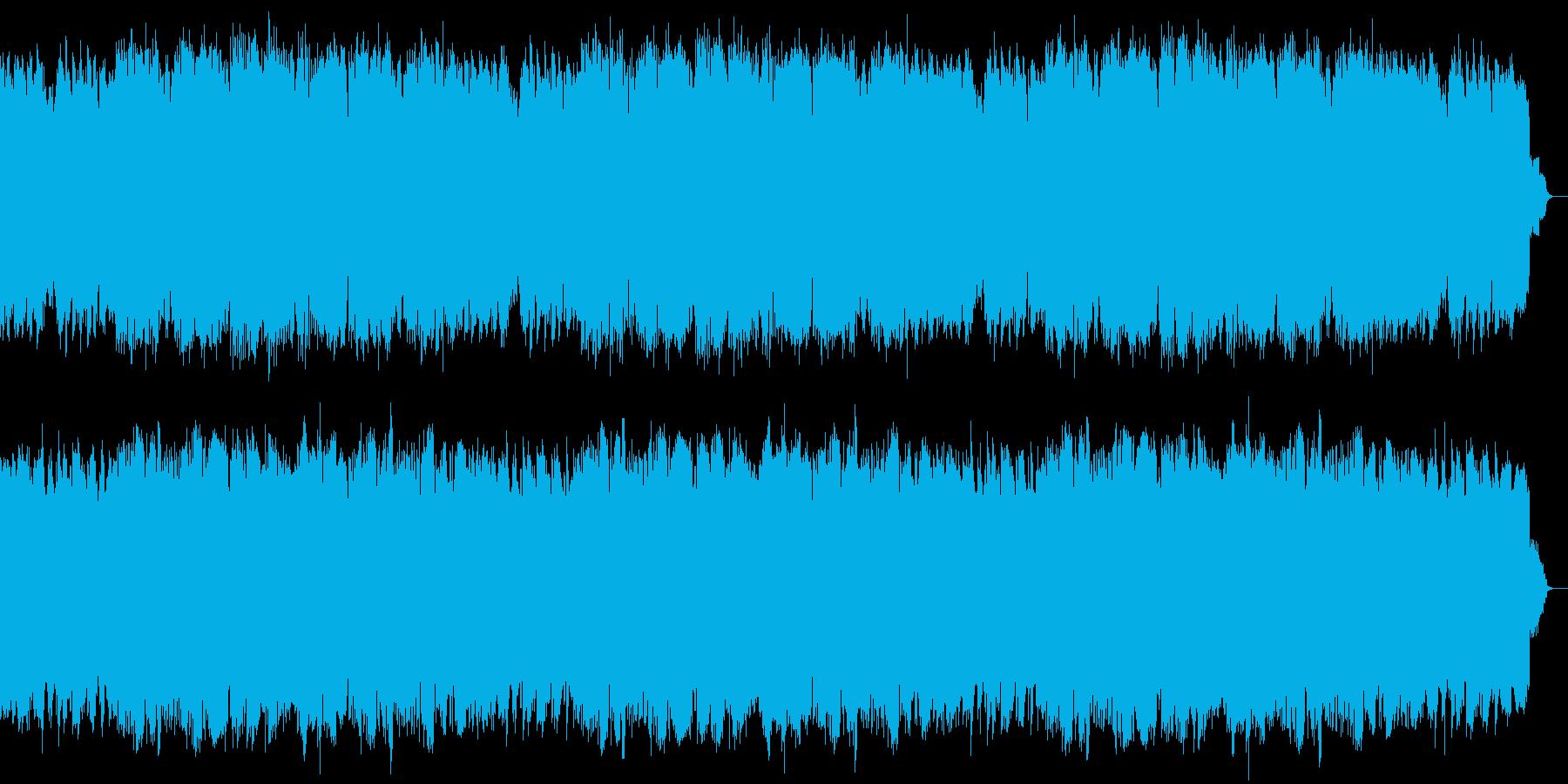ほんわか温かい大人のジャズ風昭和歌謡曲の再生済みの波形