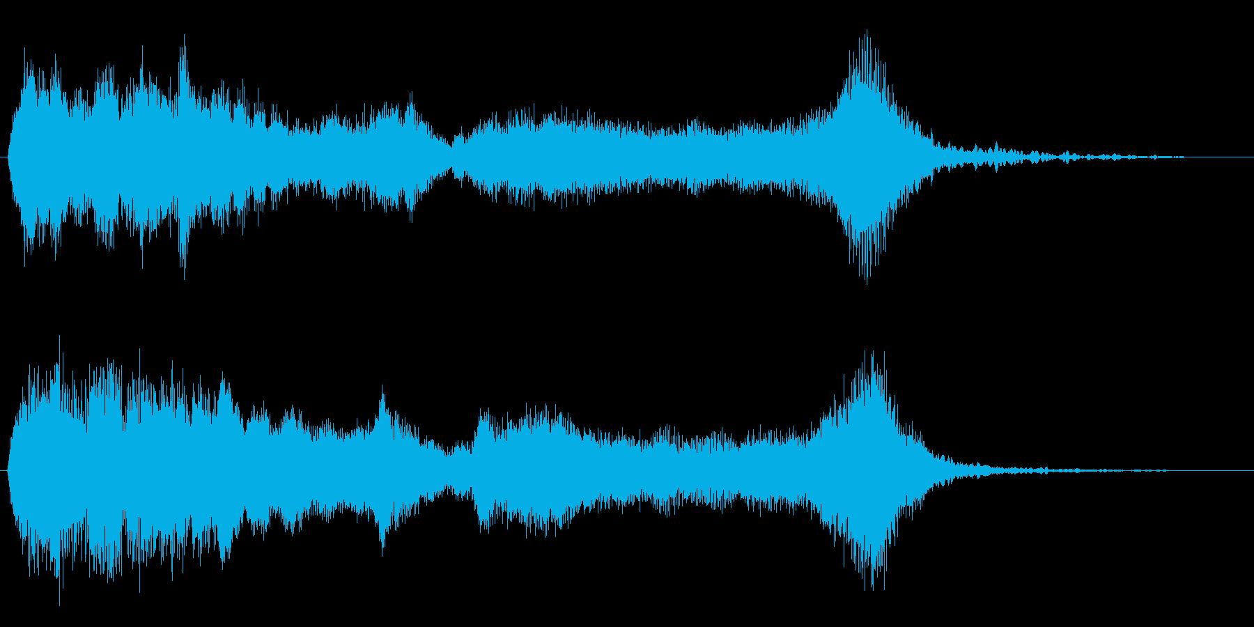 怪しげなファンファーレ 金管のみの再生済みの波形