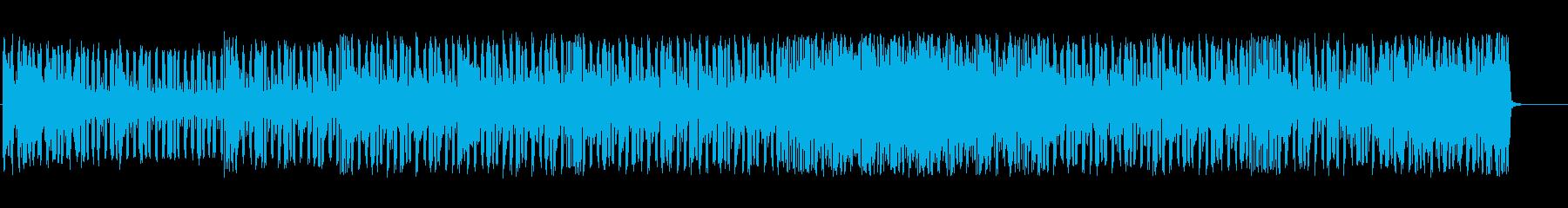 グルービーなテクノBGMの再生済みの波形