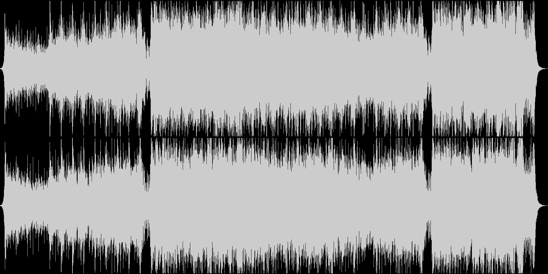 重圧な感じのシネマティックオーケストラの未再生の波形