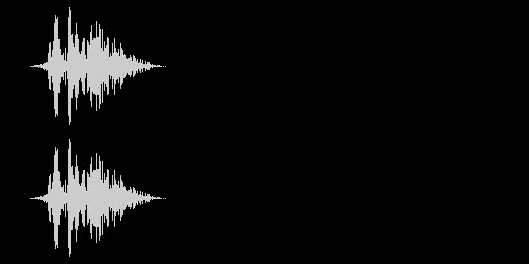 打撃09-3の未再生の波形