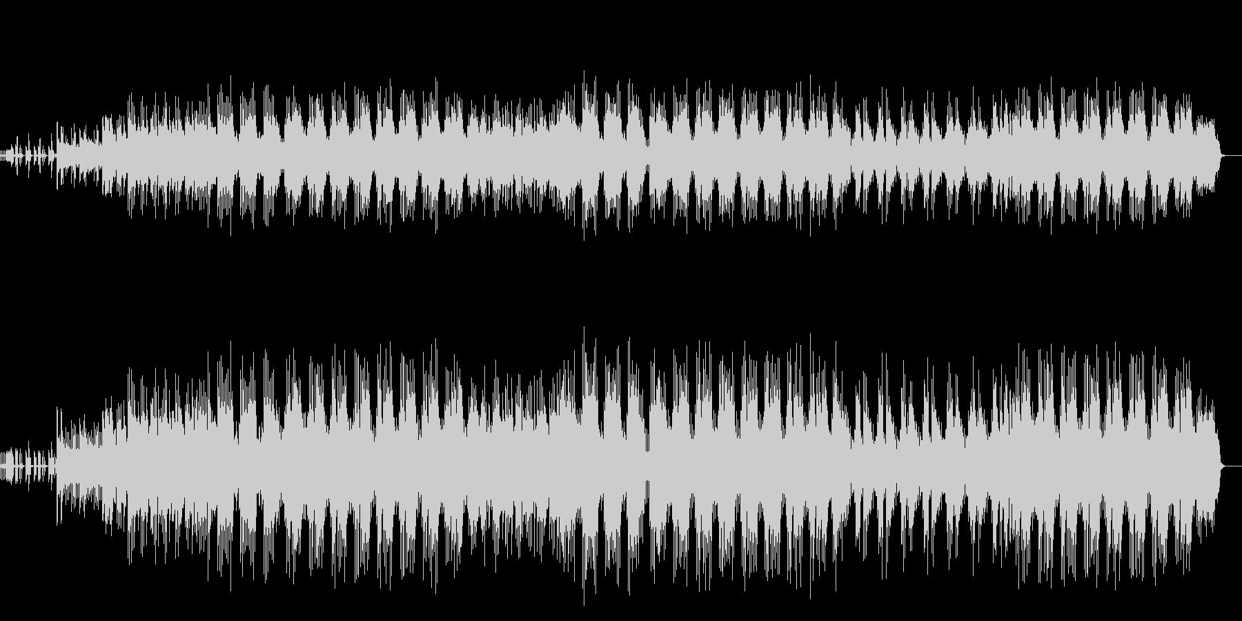 アンダーグラウンドなBGMの未再生の波形