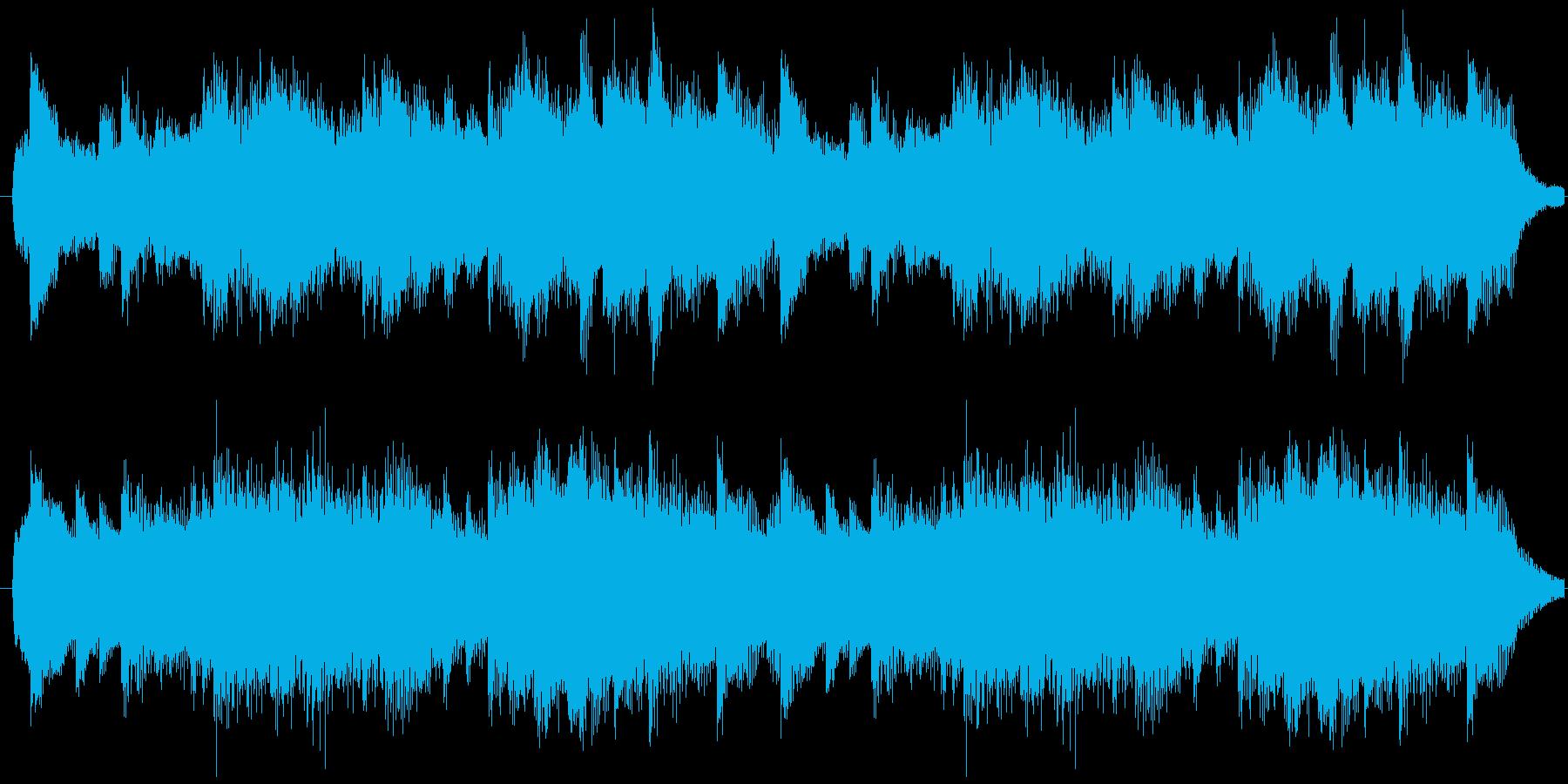 オシャレでクールなピアノソロ曲の再生済みの波形