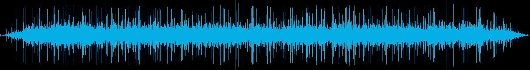 【拍手】 ホールでの拍手 パチパチパチの再生済みの波形