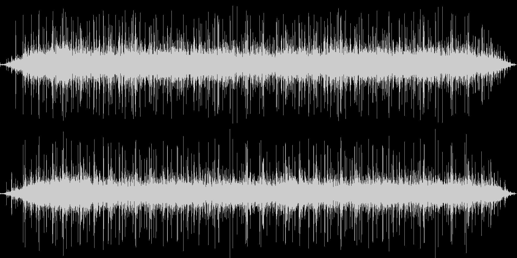 【拍手】 ホールでの拍手 パチパチパチの未再生の波形