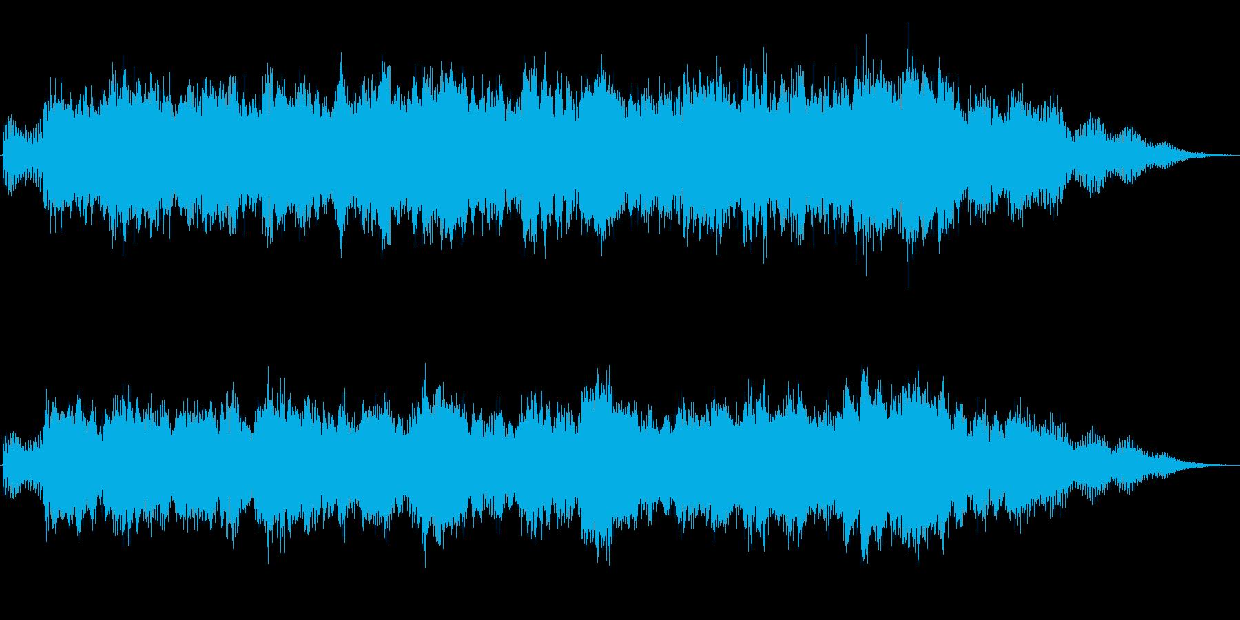 キラキラシンセのメルヘン世界のジングル2の再生済みの波形
