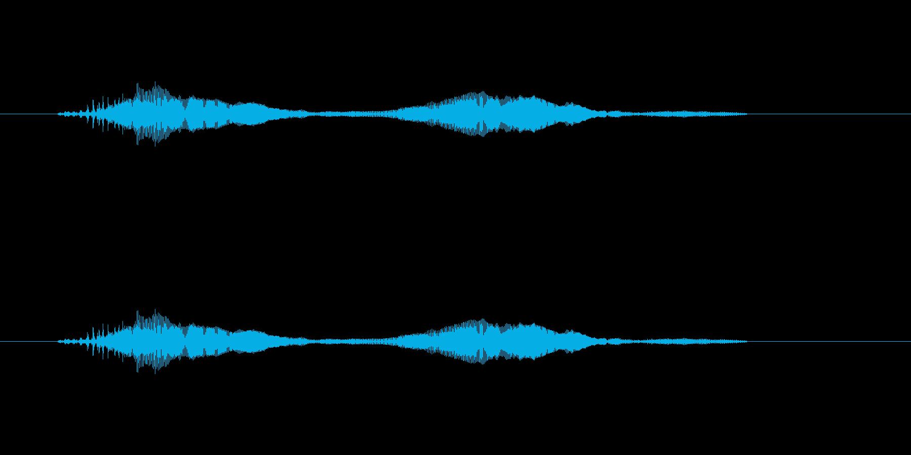 ニャー_猫声-26の再生済みの波形