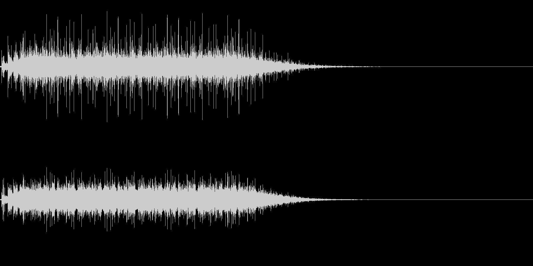 拍手の効果音(パチパチ)の未再生の波形