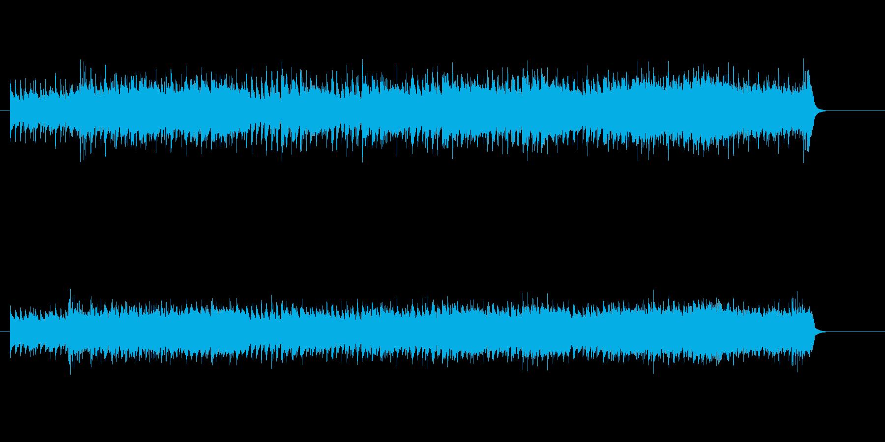 シリアスなマイナー・シャッフルの再生済みの波形