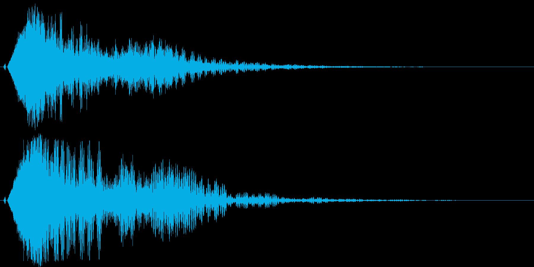 シャキーン♪クリア,達成,回復等に最適3の再生済みの波形