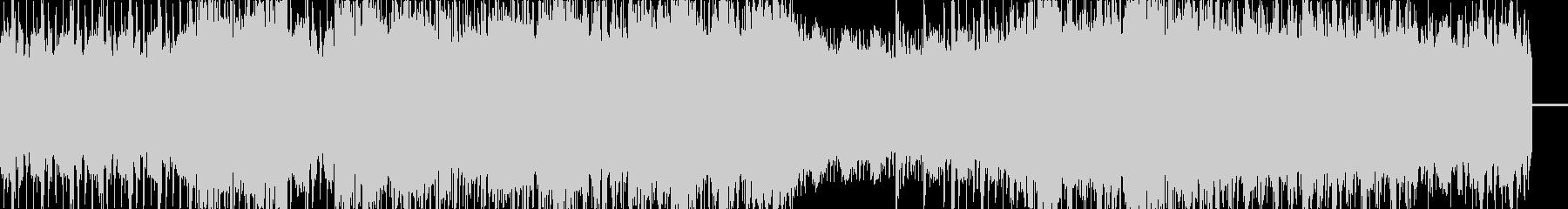 スイング、ジャズなクラブサウンドの未再生の波形