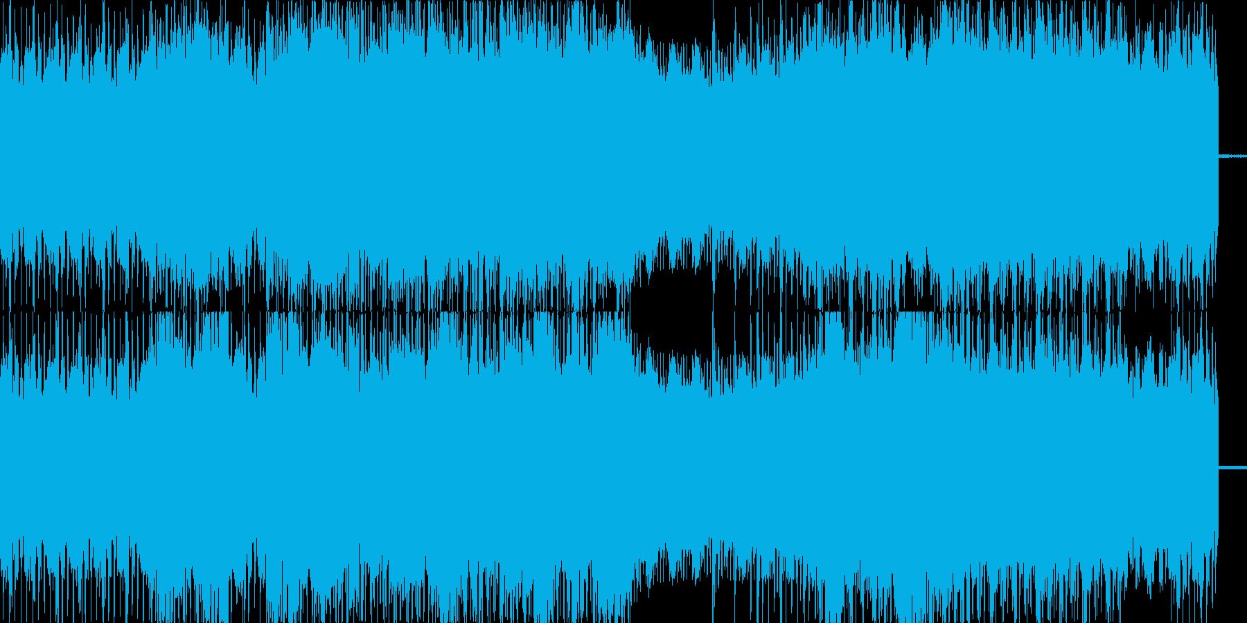 スイング、ジャズなクラブサウンドの再生済みの波形