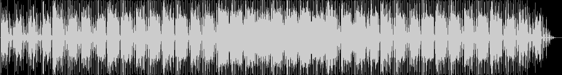 レゲエっぽいエレクトロニカですの未再生の波形