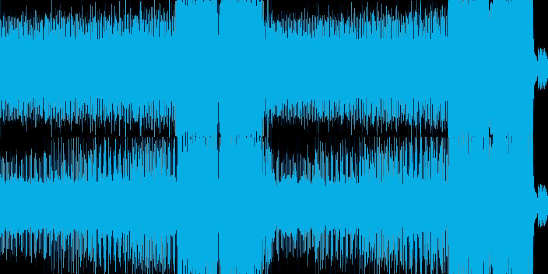 効果音とパーカッションの求愛をテーマに…の再生済みの波形