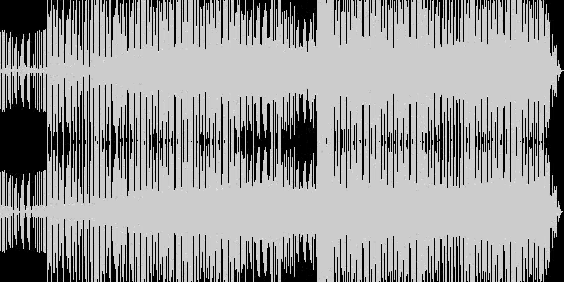 アシッドハウスミュージックその2の未再生の波形