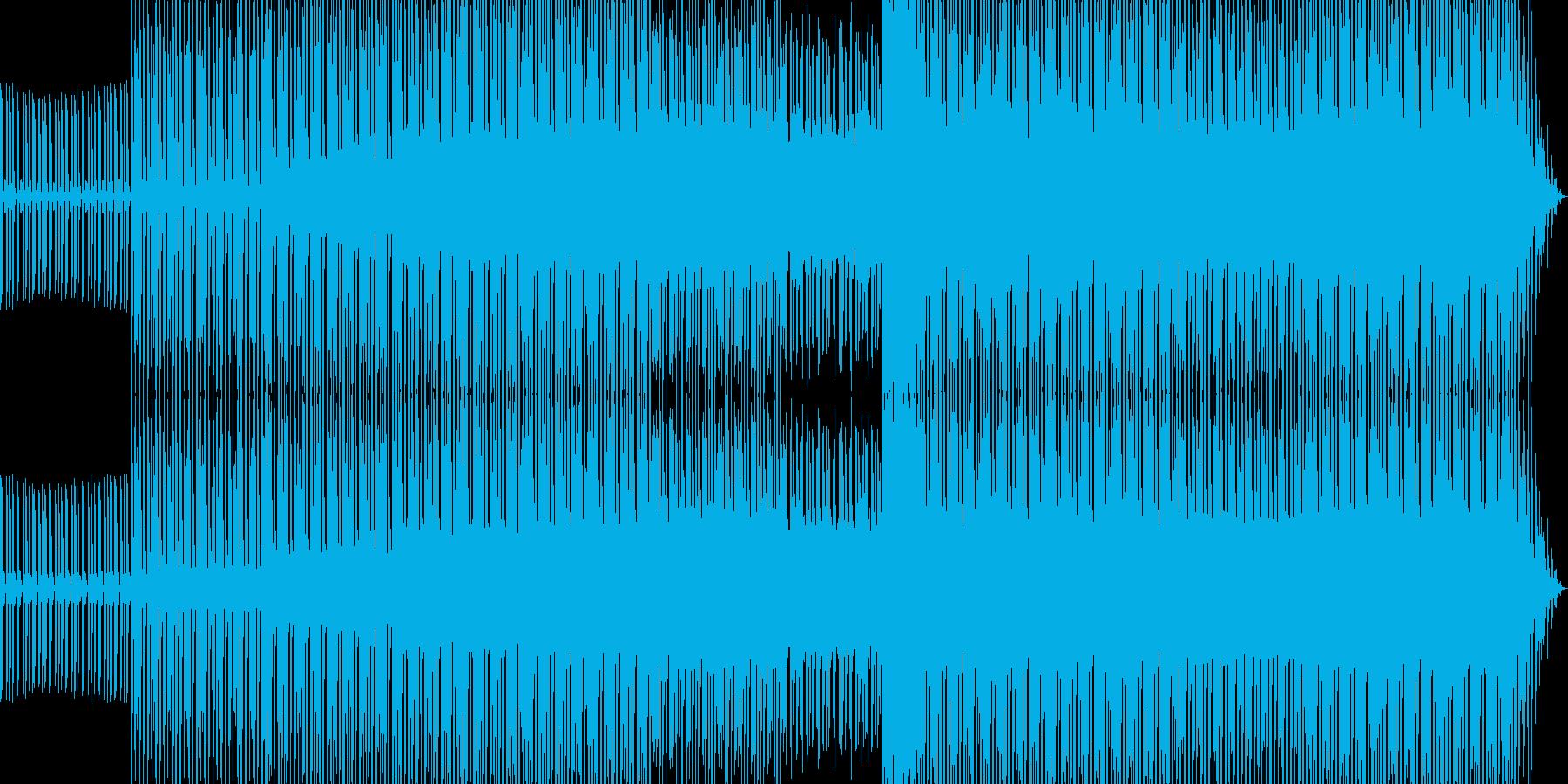 アシッドハウスミュージックその2の再生済みの波形