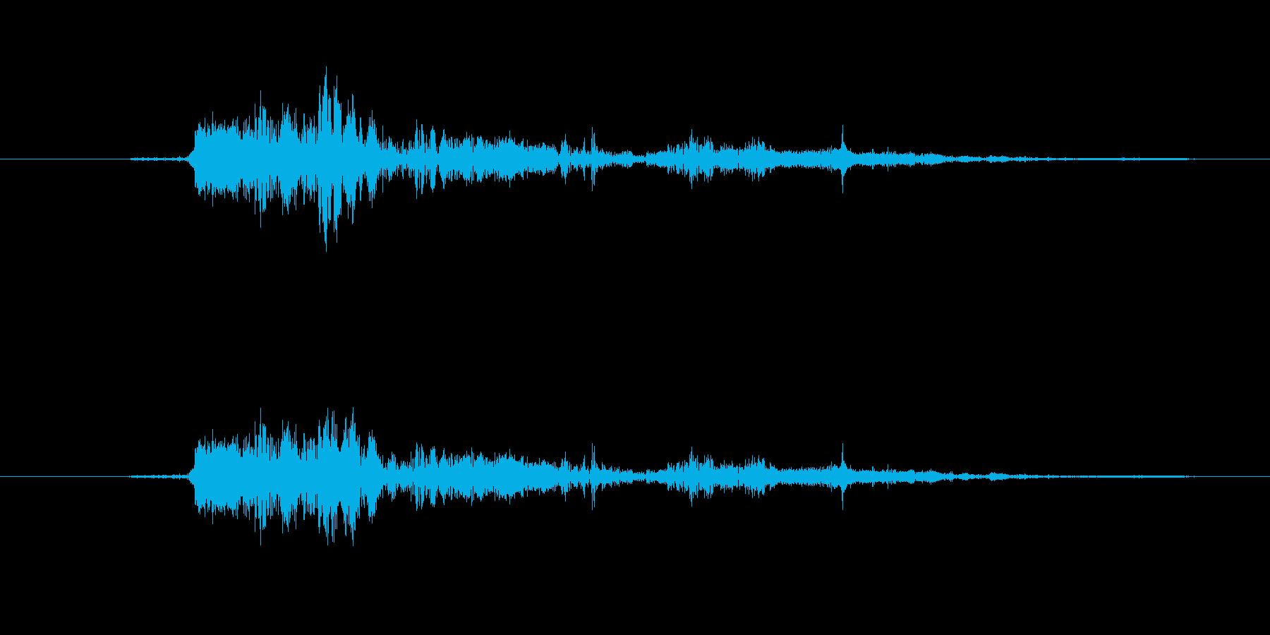 ぐちゅの再生済みの波形