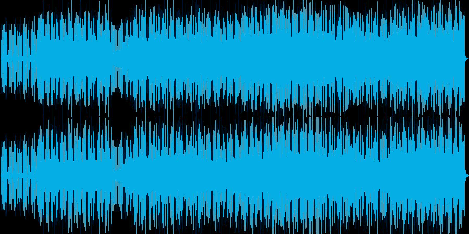 ゲームなどで使えそうな曲かと思います。の再生済みの波形