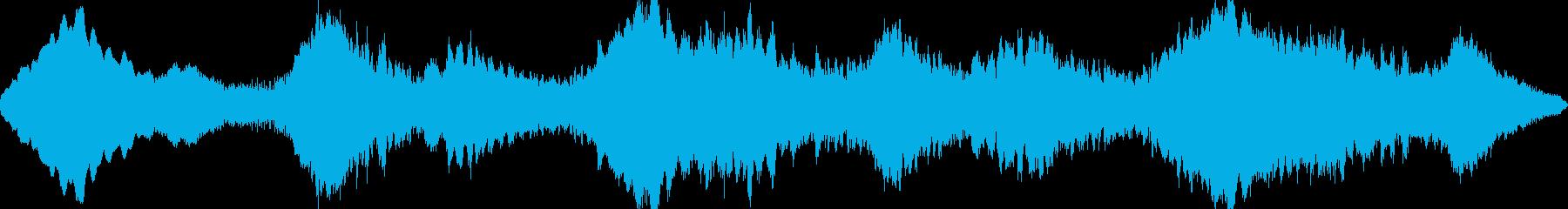 残響が印象的なギターアンビエントの再生済みの波形