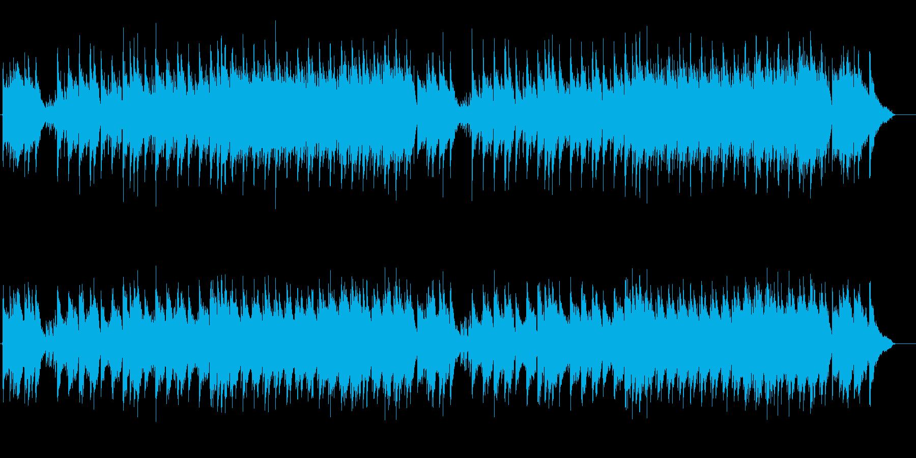 絵画的なオリエンタル・ミュージックの再生済みの波形