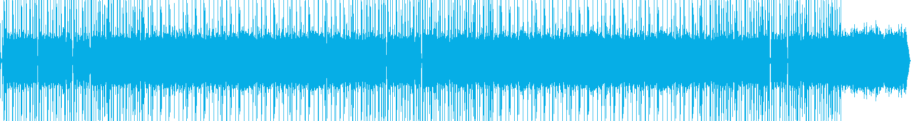オールドスタイルのヒップホップビートの再生済みの波形