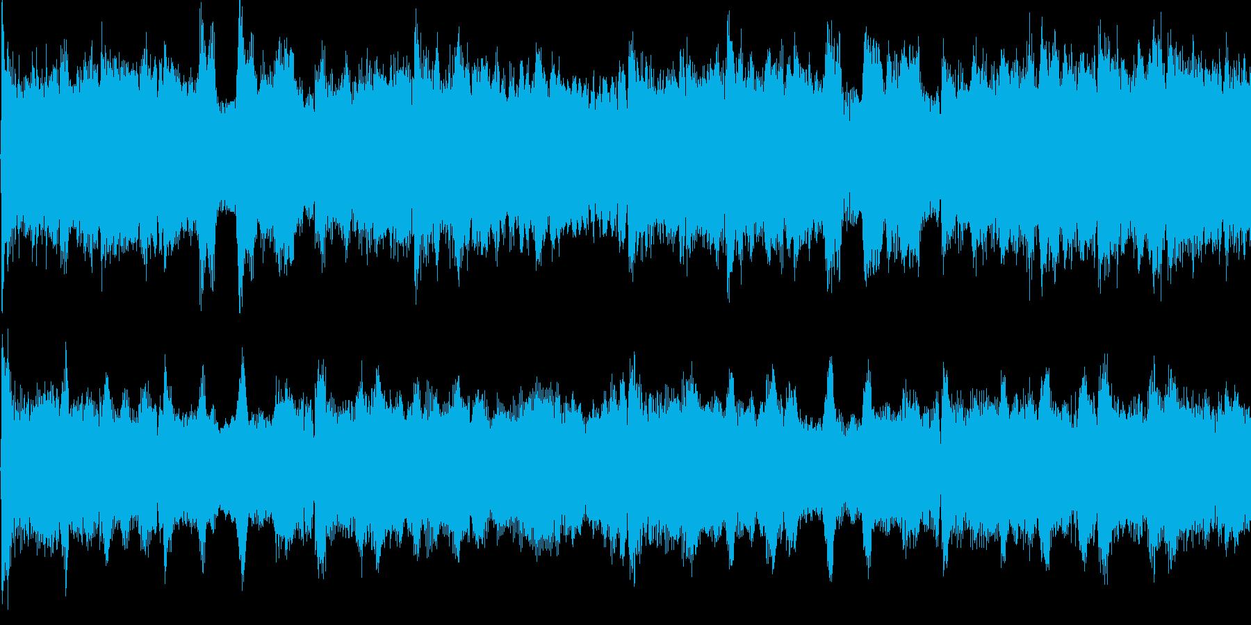 勇壮、悲壮なオーケストラ(ループ仕様)の再生済みの波形