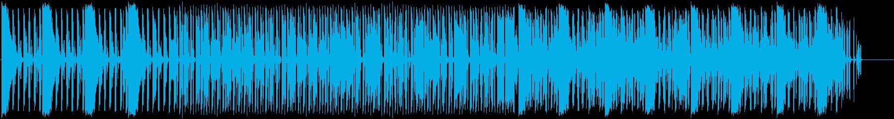 大人な勢いあるラップミュージックの再生済みの波形
