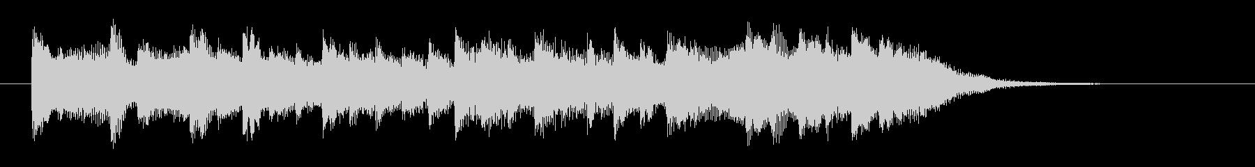 切ないバラード風ピアノソロの未再生の波形